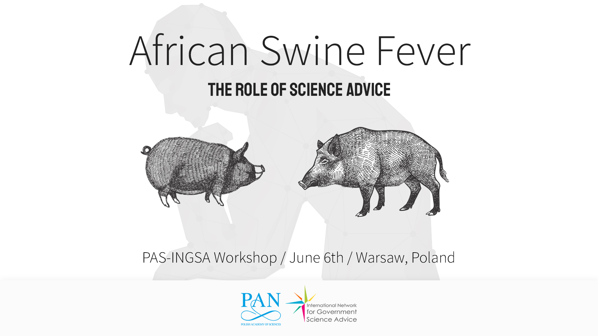 African Swine Fever the Role of Science Advice Wariant 4